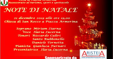 Programma Natale 2019 a Piazza Armerina